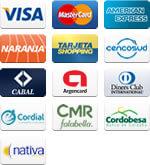 Tarjetas de Crédito disponibles