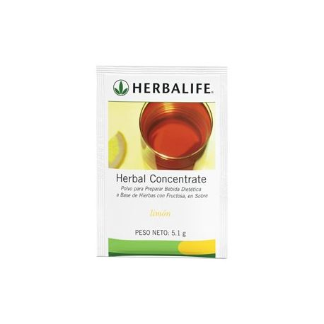 Herbalife Herbal Concentrate sabor Limon Sobres 5.1g