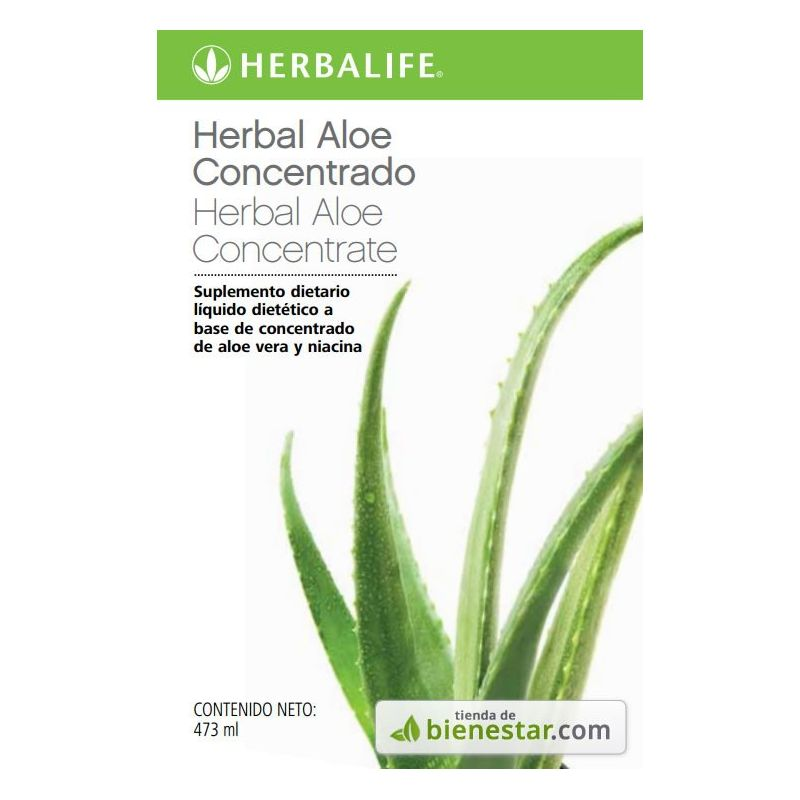 Herbal Aloe Concentrado Original 473 ml - Comprar