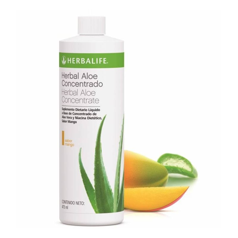 Herbal Aloe Concentrado sabor Mango 473 ml - Comprar