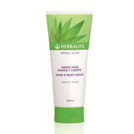 Crema para manos y Cuerpo Herbal Aloe 200ml
