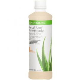 Herbalife Herbal Aloe Concentrado sabor Mandarina 473 ml
