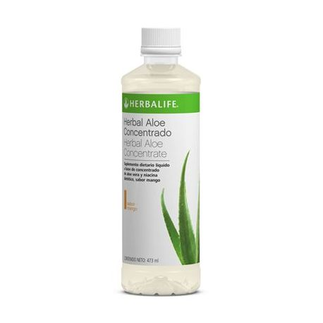 Herbalife Herbal Aloe Concentrado sabor Mango 473 ml